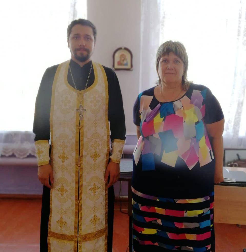 Подписано соглашение о сотрудничестве с вновь назначенным директором школы с. Займо-Обрыв